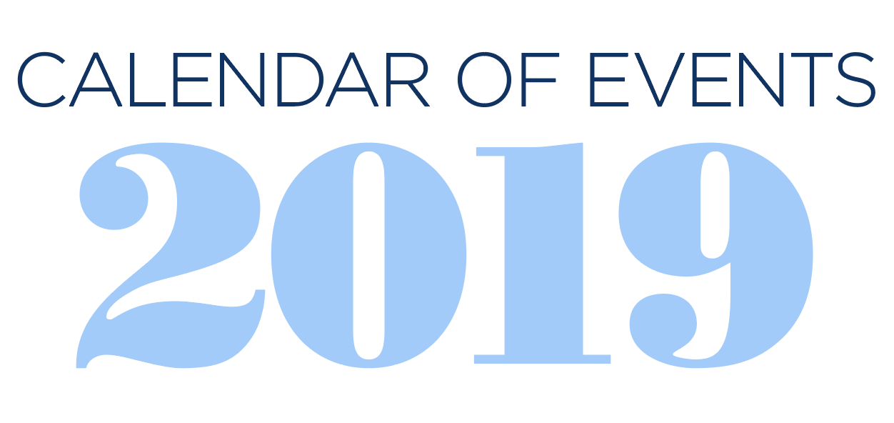 Riverfront Children's Center 2019 Calendar of Events graphic